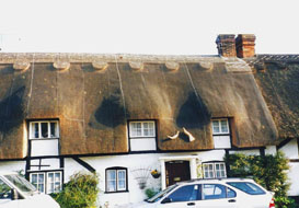 master thatcher armstrong wilts dorset hants hampshire thatching services